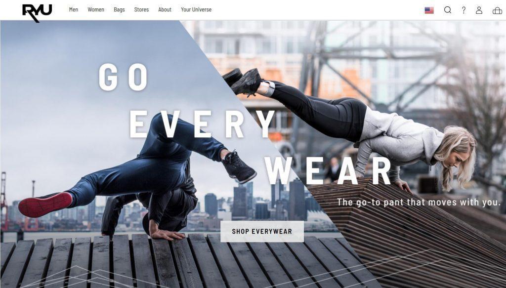 加拿大运动时尚品牌RYU上季度