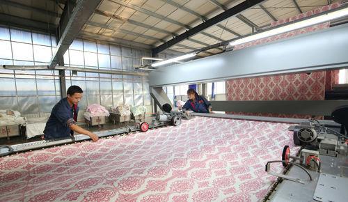 保定高阳引导纺织企业设备更新 无梭织机逾30%
