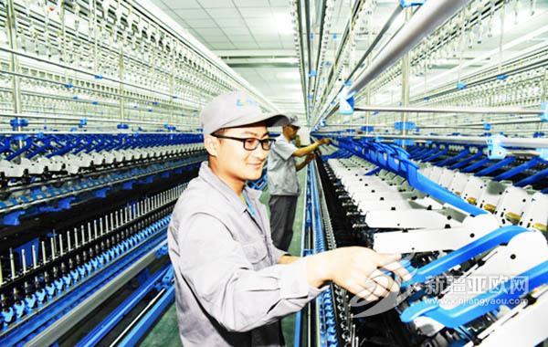 巴州纺织业发展势头迅猛